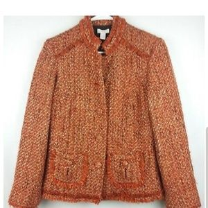 Chico's Tweed Blazer